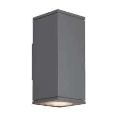 Tegel 12 Outdoor Wall charcoal 3000K 80 CRI