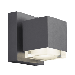 Voto 6 Outdoor Wall Charcoal 2700K 80 CRI Downlight Only