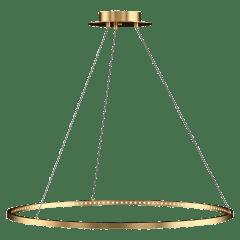 "Vellavi 36 Chandelier 36"" Diameter Natural Brass 2200K 90 CRI Integrated LED 90 CRI 2200k 120v-277v"