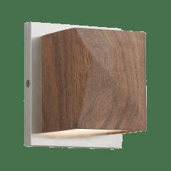 Cafe Wall walnut/Satin Nickel 3000K 90 CRI led 90 cri 3000k 120v