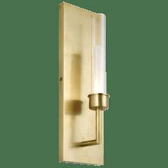 Linger Wall 1 Light natural brass 3000K 90 CRI integrated led 90 cri 3000k 120v (t24)