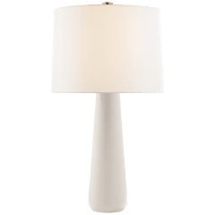 Athens Large Table Lamp in Ivory with Linen Shade
