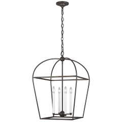 Stonington Medium Lantern Smith Steel