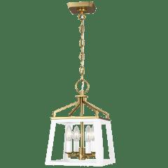 Carlow Small Lantern Matte White