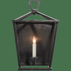 Darlana Wall Lantern in Aged Iron