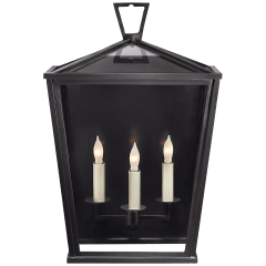 Darlana Medium 3/4 Lantern in Bronze