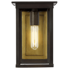 Freeport Small Outdoor Wall Lantern Heritage Copper