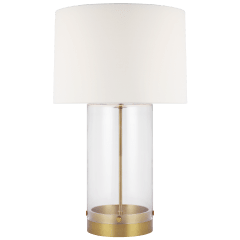 Garrett Table Lamp Burnished Brass Bulbs Inc
