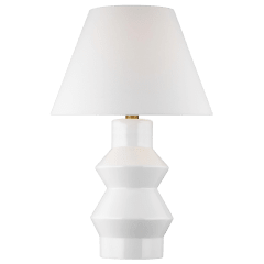 Abaco Large Table Lamp Arctic White Bulbs Inc