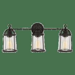 Stonington 3 - Light Vanity Smith Steel