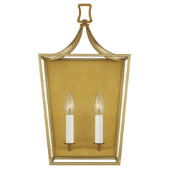 Southold  Wall Sconce Burnished Brass