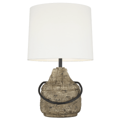 Augie Table Lamp Stone Bulbs Inc
