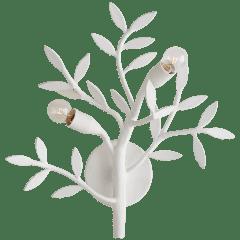 Mandeville Sconce in Plaster White