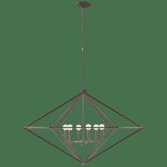 Afton Grande Lantern in Aged Iron