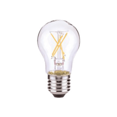 5 W A15 Clear LED Clear Dimmable E26 Medium Base 450LM 2700K 120V
