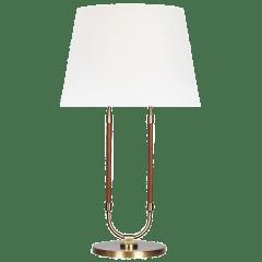 Katie Table Lamp Time Worn Brass Bulbs Inc