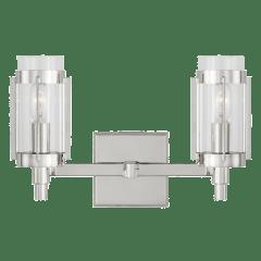 Flynn 2 - Light Vanity Polished Nickel