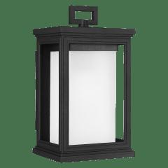 Roscoe Small Lantern Textured Black