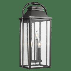 Wellsworth Medium Lantern Antique Bronze