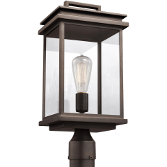 Glenview Post Lantern Antique Bronze