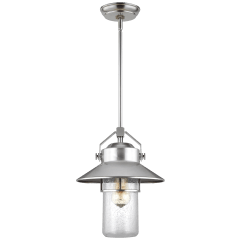Boynton Medium Pendant Painted Brushed Steel
