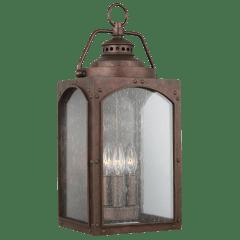 Randhurst Large Lantern Copper Oxide