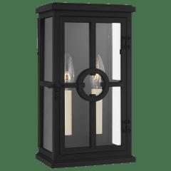 Belleville Small Lantern Textured Black
