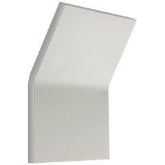 Bend Large Square Light in Polished Nickel