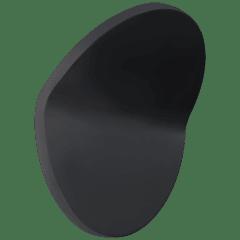 Bend Large Round Light in Matte Black