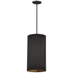 Rivers Medium Fluted Pendant in Bronze