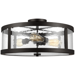 Harrow Large Semi-Flush Mount Oil Rubbed Bronze