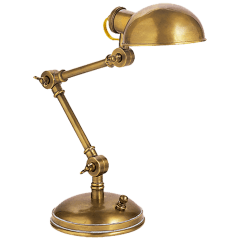 The Pixie in Hand-Rubbed Antique Brass