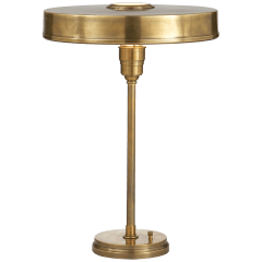 Carlo Table Lamp in Hand-Rubbed Antique Brass