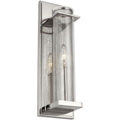 Silo Sconce Polished Nickel
