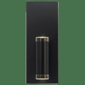 Dobson II 1-Light Wall/Bath 1 Light matte black 3000K 90 CRI led 90 cri 3000k 277v