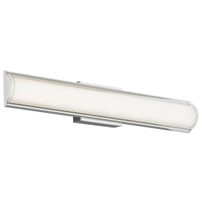 Jaxon Bath Clear Chrome 3000K 80 CRI led 90 cri 3000k 120v