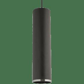 Dobson Grande Pendant Weathered Gray Oak black/black no lamp