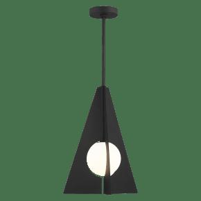 Orbel Pyramid Grande Nightshade Black No Lamp