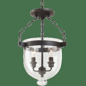 Westminster Two Light Semi-Flush Convertible Pendant Autumn Bronze