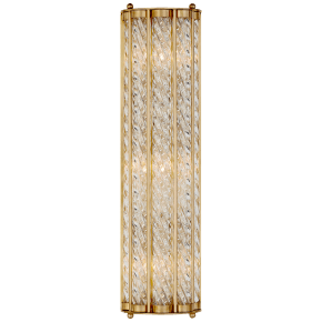 Eaton Linear Sconce in Hand-Rubbed Antique Brass