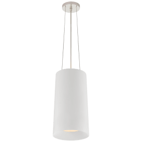 Halo Tall Hanging Shade in Matte White
