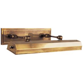 """Dorchester 24"""" Picture Light in Antique-Burnished Brass"""