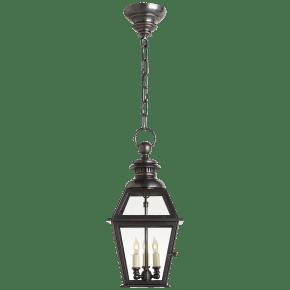 Chelsea Medium Hanging Lantern in Bronze