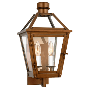 Hyannis Small Wall Lantern Natural Copper
