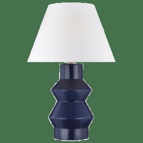 Abaco Large Table Lamp Indigo Bulbs Inc
