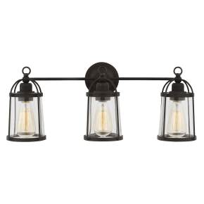 Stonington 3 - Light Vanity Smith Steel