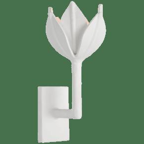 Alberto Small Sconce in Plaster White
