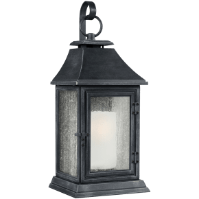 Shepherd Extra Large Lantern Dark Weathered Zinc