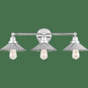 Hooper 3 - Light Vanity Chrome