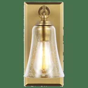 Monterro 1 - Light Sconce Burnished Brass